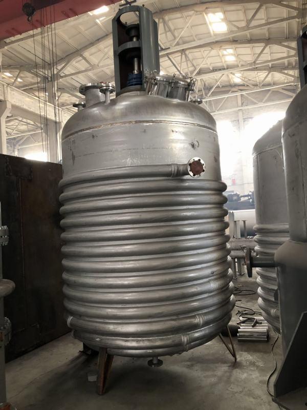 外盘管反应釜1